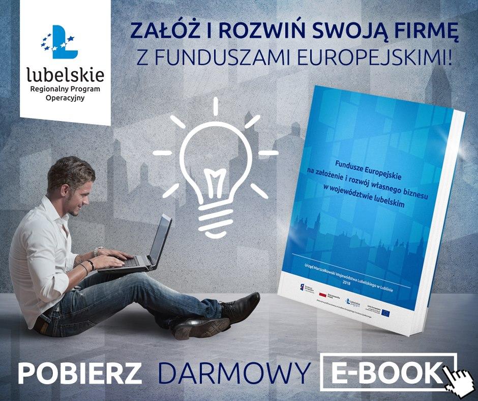 Przeczytaj e-booka i zgarnij fundusze europejskie na firmę