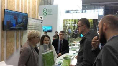 W dniach 22-25 października doradcy energetyczni z Regionalnego Biura Energii Urzędu Marszałkowskiego w Lublinie uczestniczyli w EkoSferze na terenie Targów Poznańskich