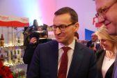 Premier Mateusz Morawiecki na otwarciu Polska Food Festival w Brukseli