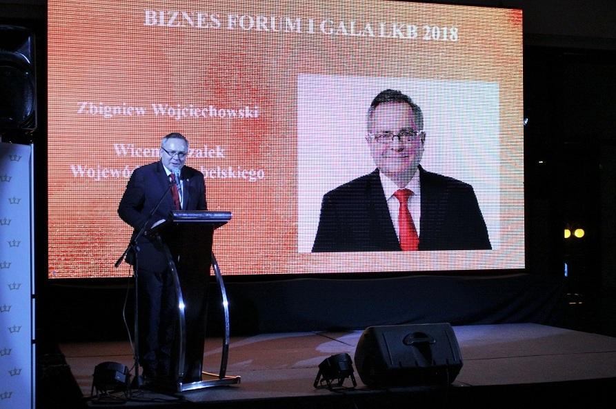 Województwo Lubelskie było strategicznym partnerem odbywającego się we wtorek w Lublinie Biznesforum i Gali Lubelskiego Klubu Biznesu 2018
