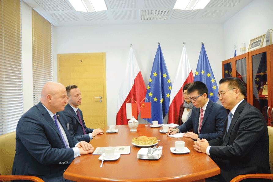Wizyta Ambasadora Chińskiej Republiki Ludowej