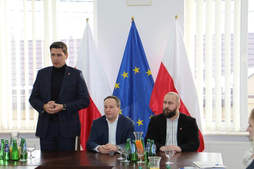 Projekt FIRESPOL: wizyta studyjna w Wisznicach
