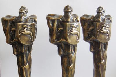 Statuetki Ambasador Województwa Lubelskiego