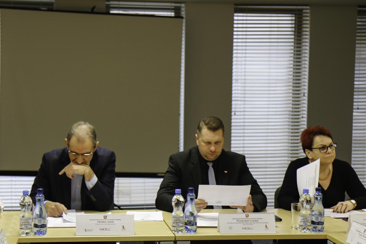 Posiedzenie Prezydium WRDS WL w dniu 8 lutego 2019 r.