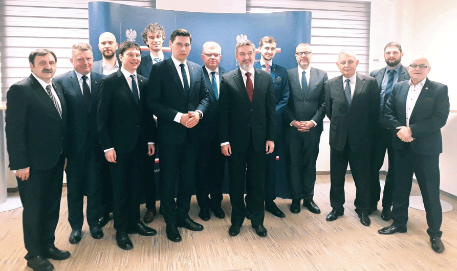 Przedstawiciele województwa lubelskiego w Mińsku
