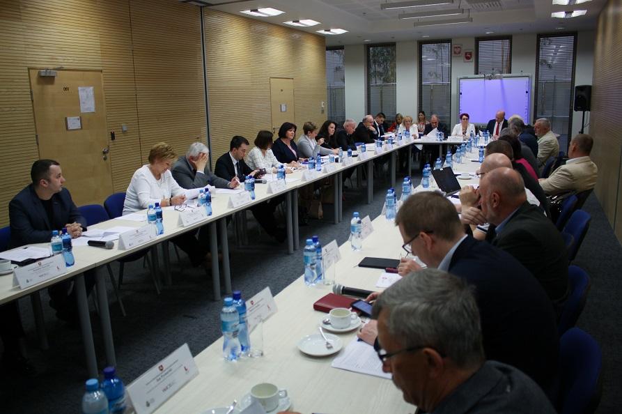 Posiedzenie plenarne Wojewódzkiej Rady Dialogu Społecznego Województwa Lubelskiego w dniu 26 kwietnia 2019 r.