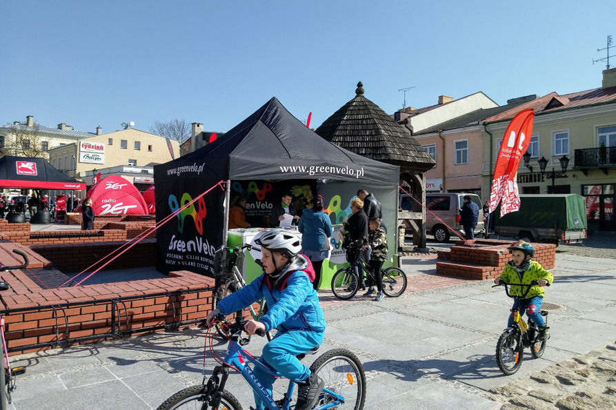 Rowerowy kwiecień rozpoczął się w Chełmie