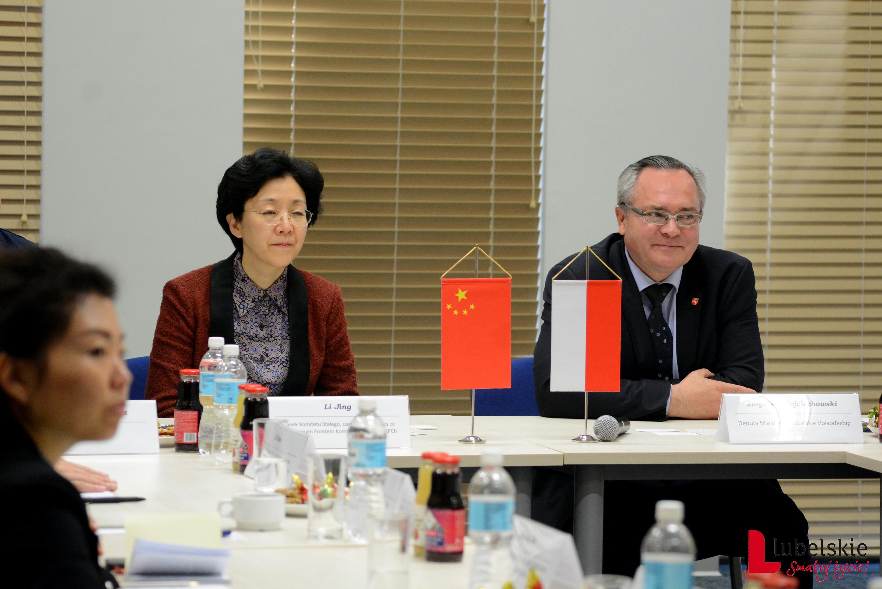Delegacja znad Jangcy w województwie lubelskim