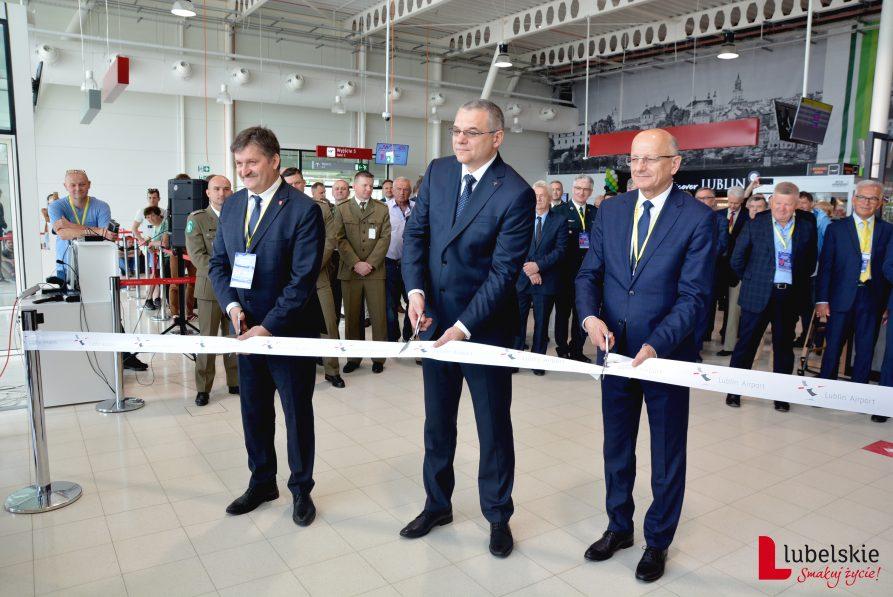 Port Lotniczy Lublin: Nowa część terminalu otwarta