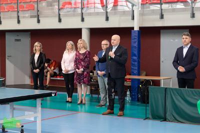 Uroczystego otwarcia turnieju dokonał Marszałek Województwa Lubelskiego Jarosław Stawiarski