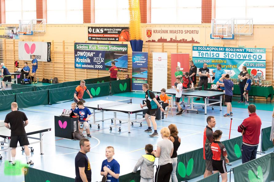 III Ogólnopolski Rodzinny Festiwal Tenisa Stołowego w Kraśniku