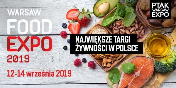 Oferta wystawiennicza Warsaw Food Expo 2019