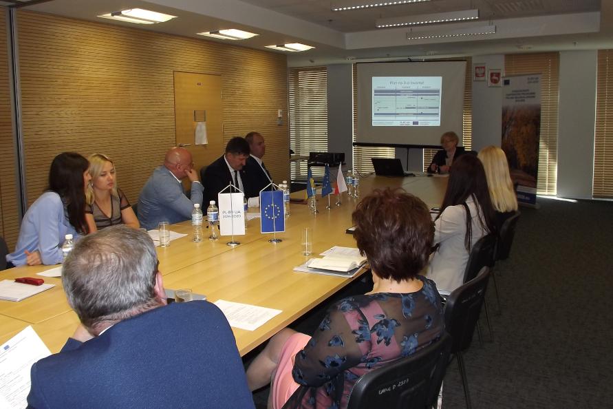 Wizyta przedstawicieli Wołyńskiej Obwodowej Administracji Państwowej w Lublinie
