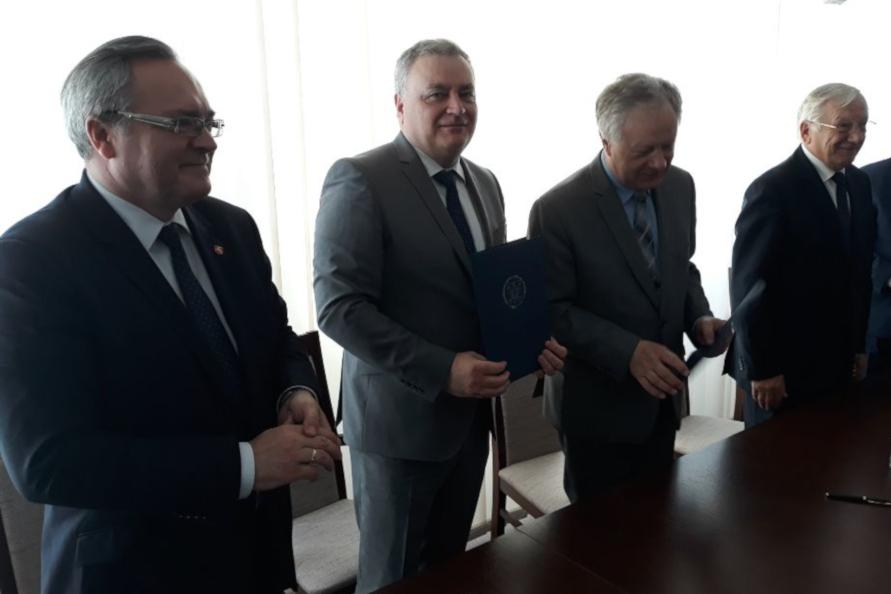 Współpraca uniwersytecka z Użhorodem