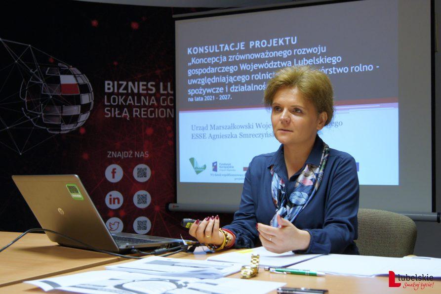 """Konsultacje projektu """"Koncepcji zrównoważonego rozwoju gospodarczego Województwa Lubelskiego"""""""
