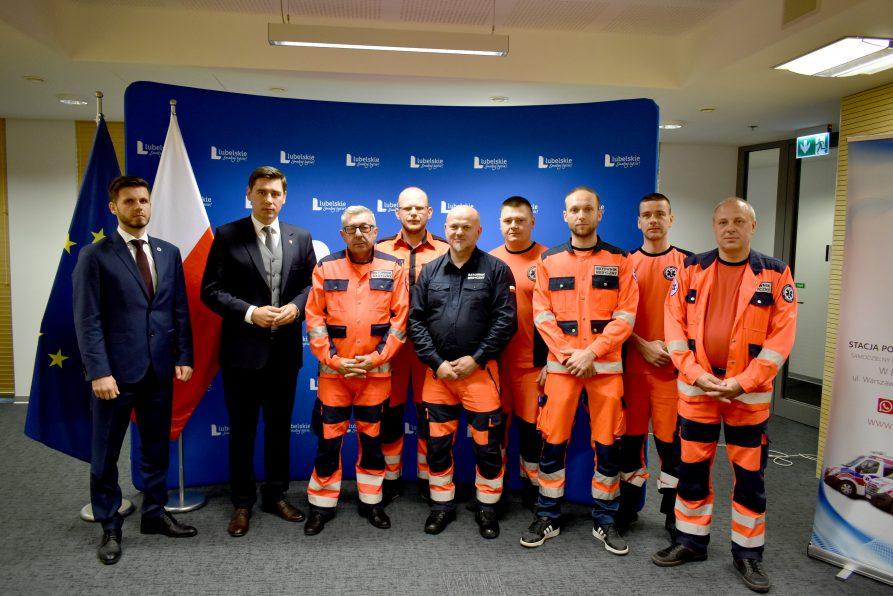 Biała Podlaska pierwsza w Polsce! Nowatorski projekt zwiększający bezpieczeństwo ratowników