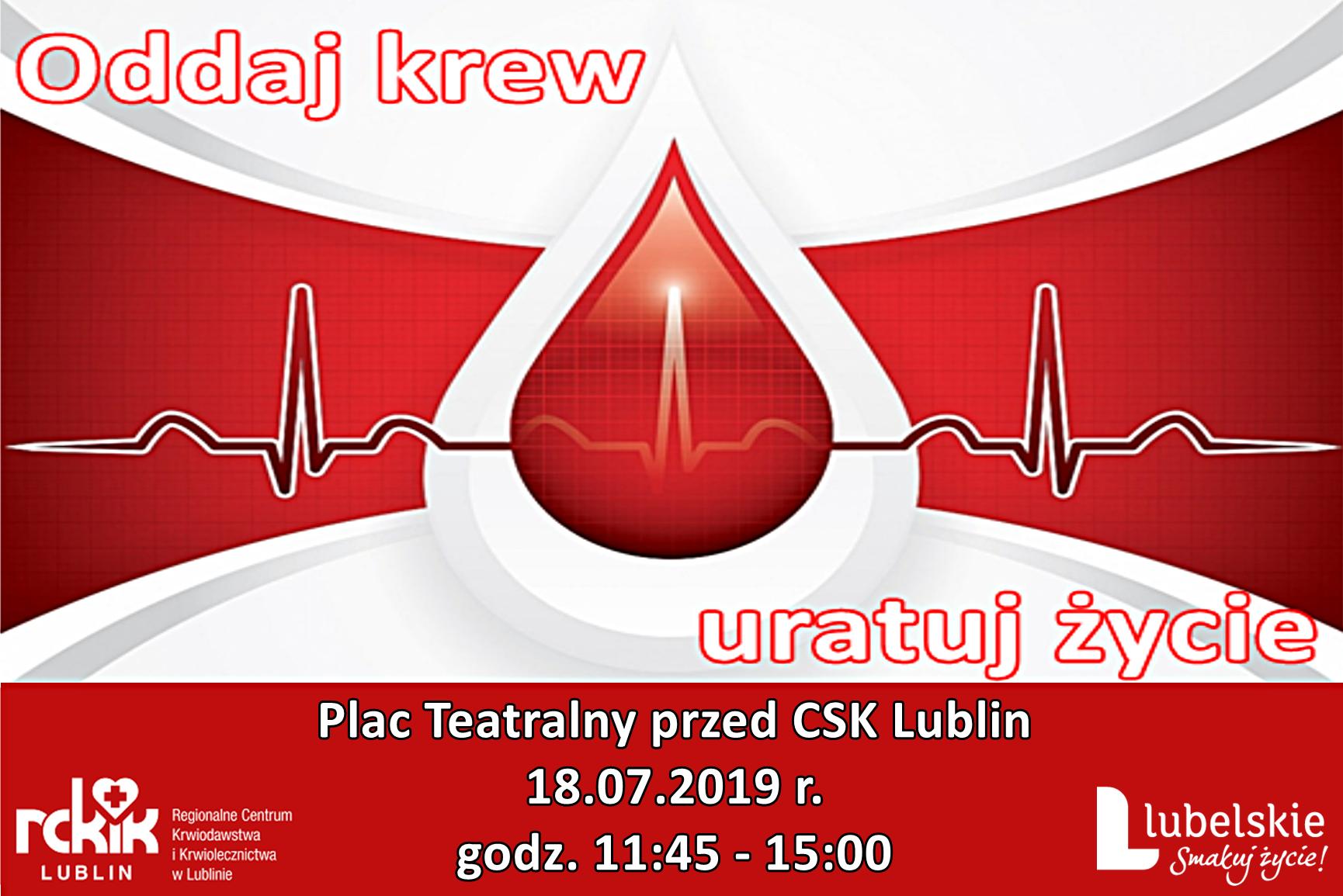 Oddaj krew #Lubelskie – przyłącz się do akcji