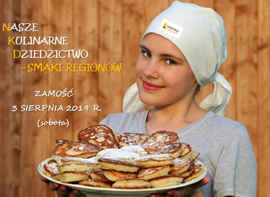"""Wystartuj w konkursie """"Nasze Kulinarne Dziedzictwo – Smaki Regionów""""!"""