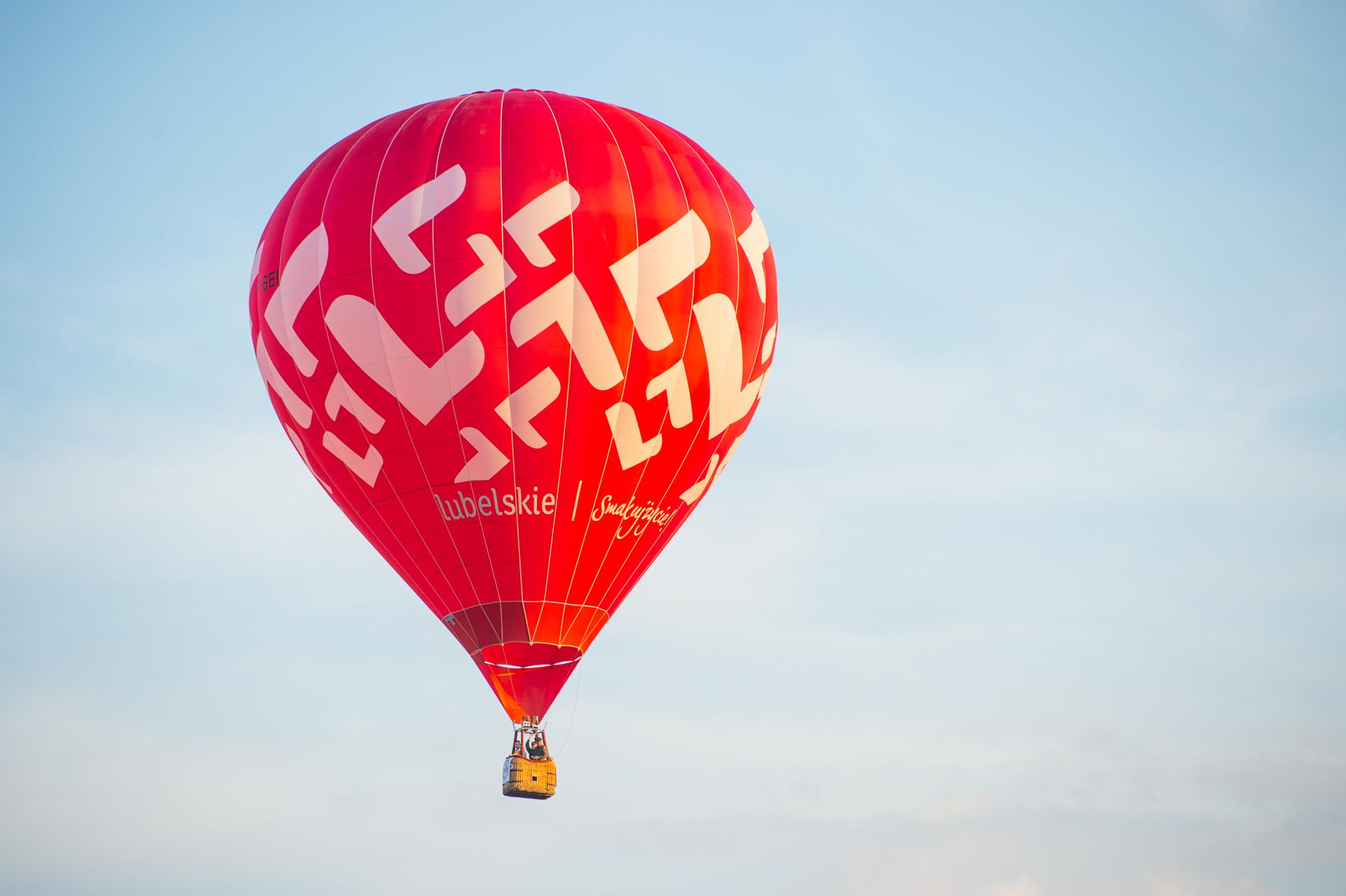 Balony nad uzdrowiskiem
