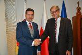 Konsul honorowy RP w Las Vegas John Petkus z wizytą w Lublinie