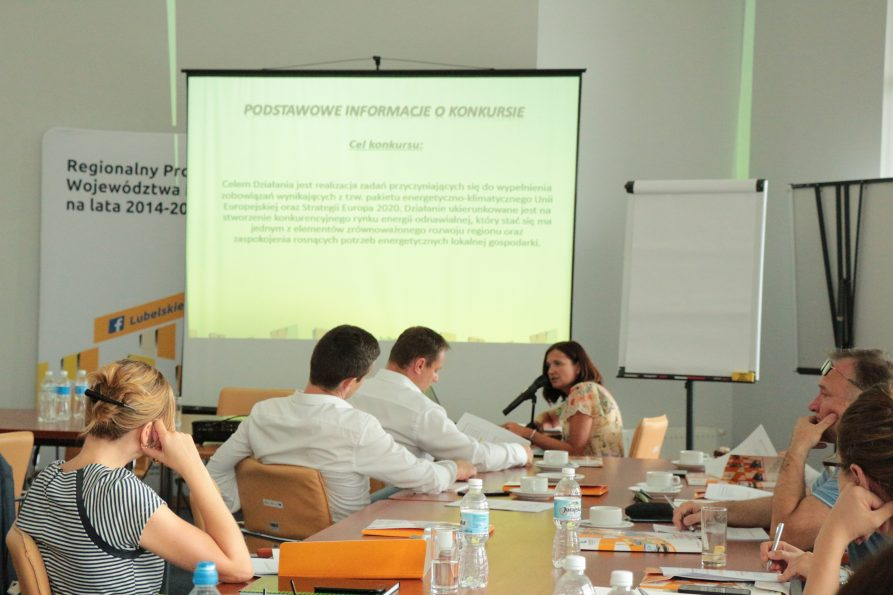 Szkolenie dla wnioskodawców OZE