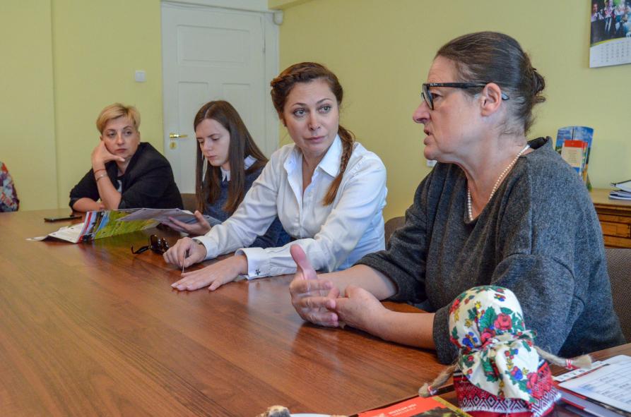 Wizyta delegacji z Obwodu Tarnopolskiego