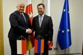 Wizyta Ambasadora Republiki Armenii