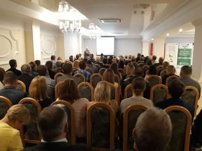 Konferencja Tomaszów Lubelski, 25-26.09.2019, foto UMWL