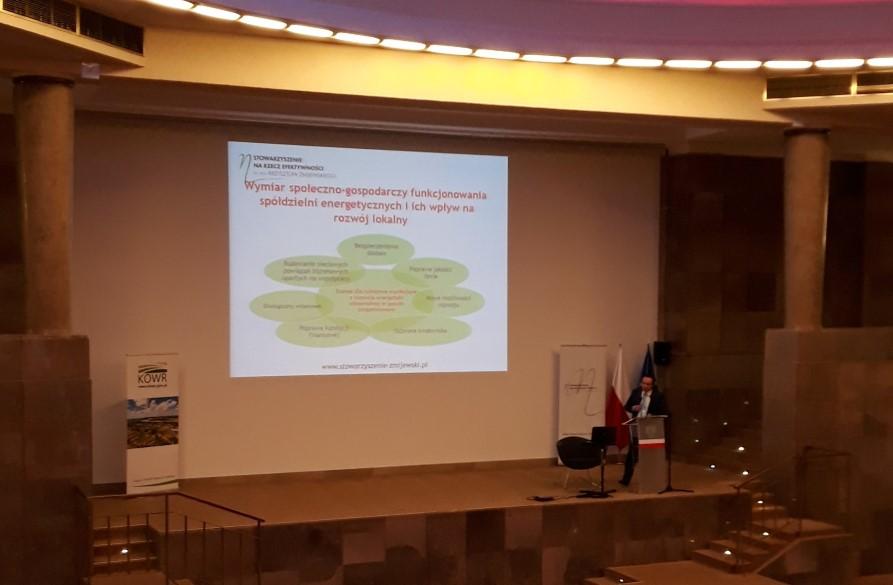 """Konferencja """"Spółdzielnie energetyczne – szansa na niezależność energetyczną obszarów wiejskich"""""""