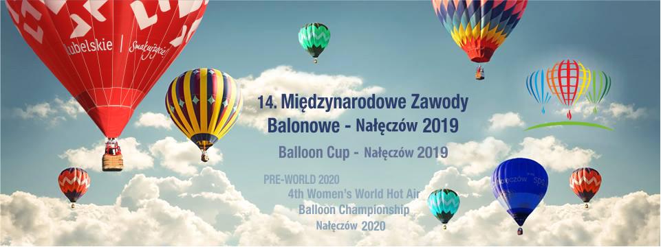 Międzynarodowe Zawody Balonowe w Nałęczowie