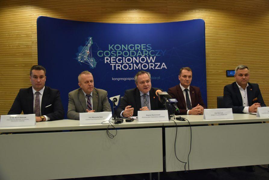 """Konferencja """"Perspektywy współpracy gospodarczej regionów Trójmorza"""""""
