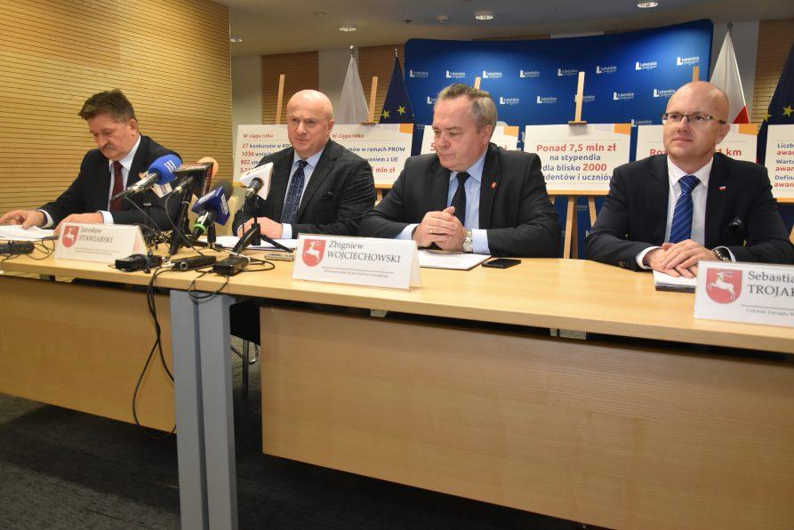Podsumowanie pierwszego roku kadencji Zarządu Województwa Lubelskiego