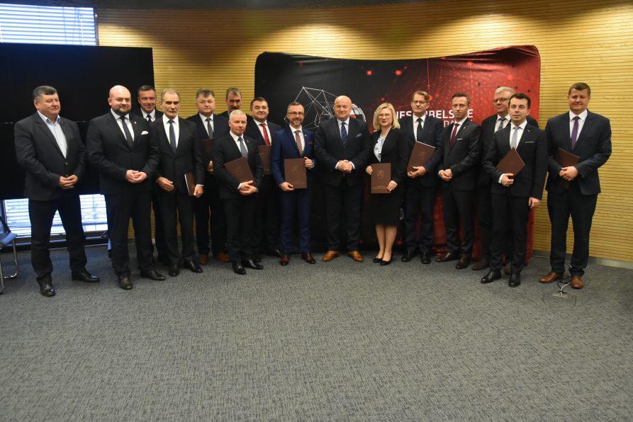 Porozumienia o powstaniu powiatowych biur Biznes Lubelskie podpisane