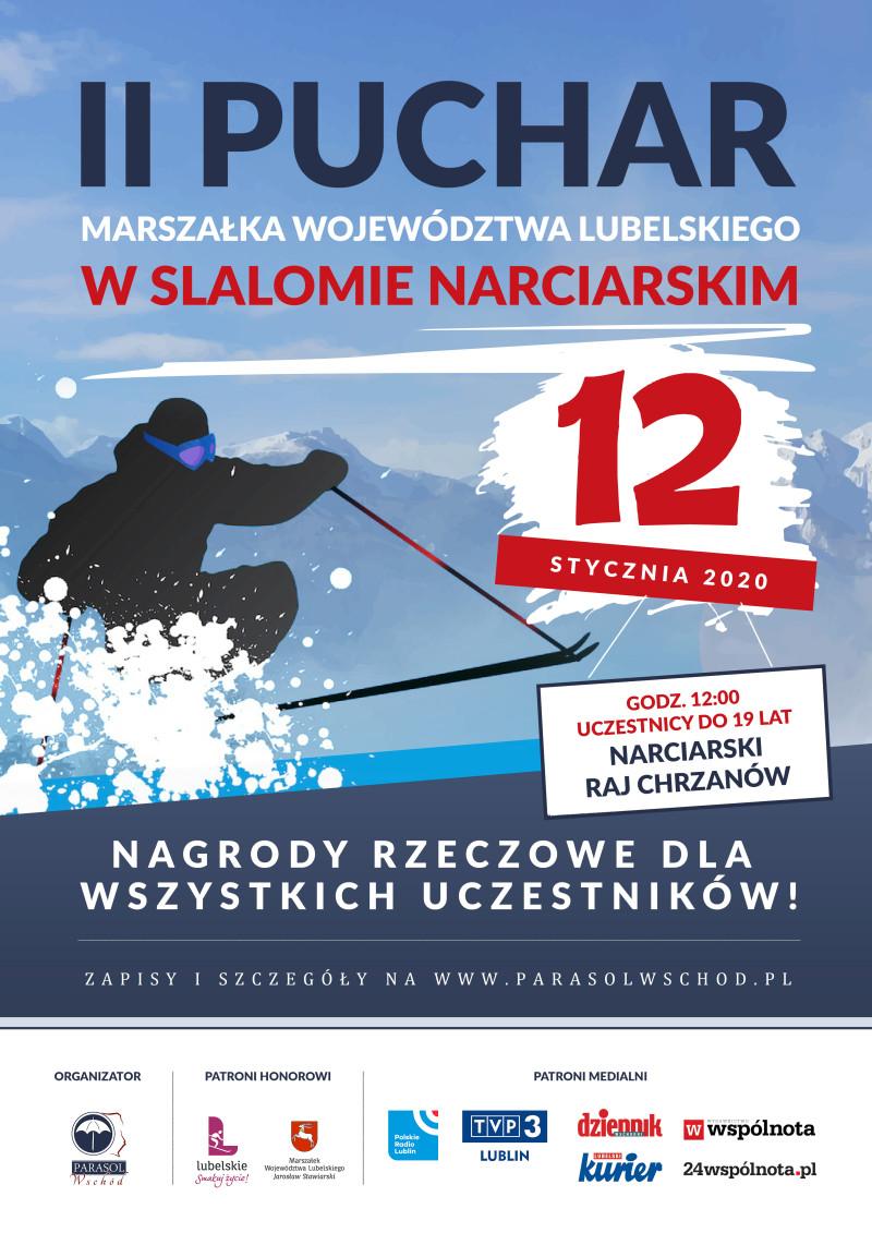 II Puchar Marszałka Województwa Lubelskiego w slalomie narciarskim