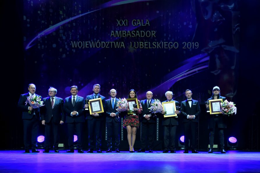 """XXI Gala """"Ambasador Województwa Lubelskiego"""" 2019 już za nami"""