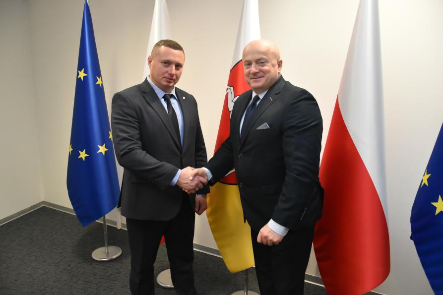 Nowy Gubernator Obwodu Wołyńskiego z wizytą w Województwie Lubelskim