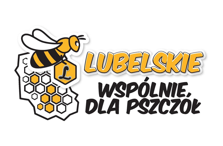 Logo akcji Lubelskie wspólnie dla pszczół.