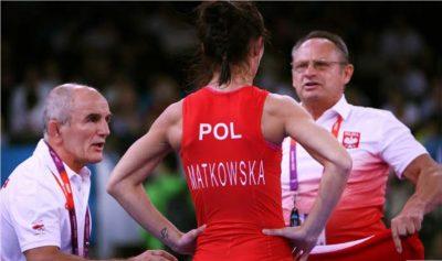 Trener Jan Godlewski podczas IO w Londynie 2012