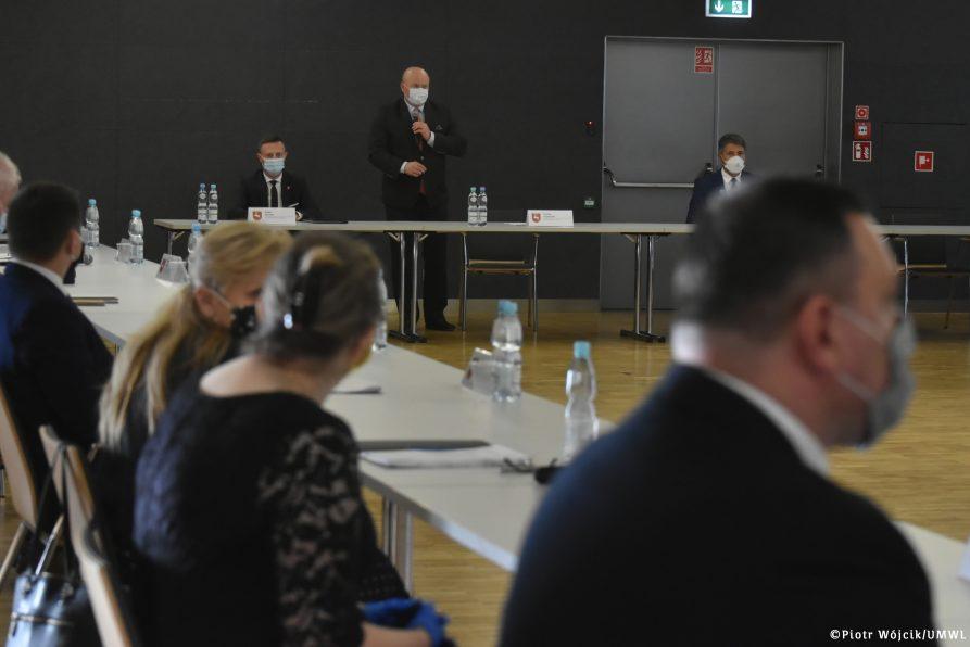 Inauguracyjne posiedzenie Rady Działalności Pożytku Publicznego Województwa Lubelskiego IV kadencji