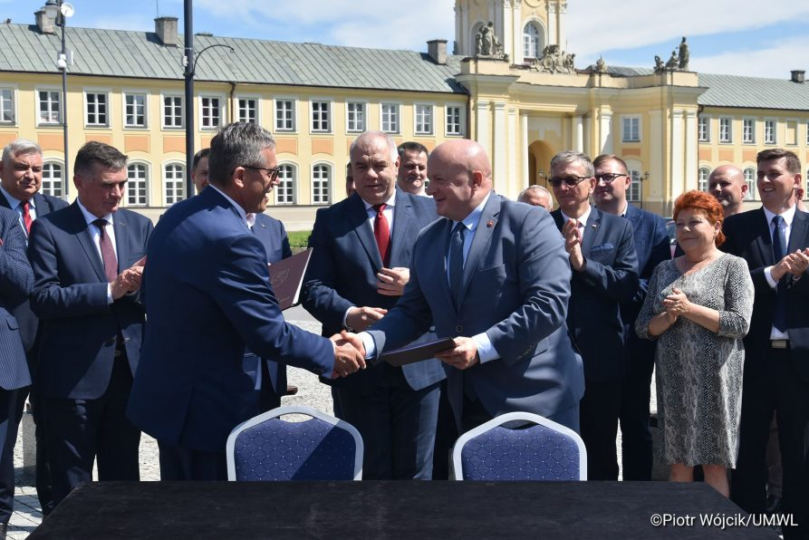 Fundusze Europejskie na rewitalizację Pałacu w Radzyniu Podlaskim