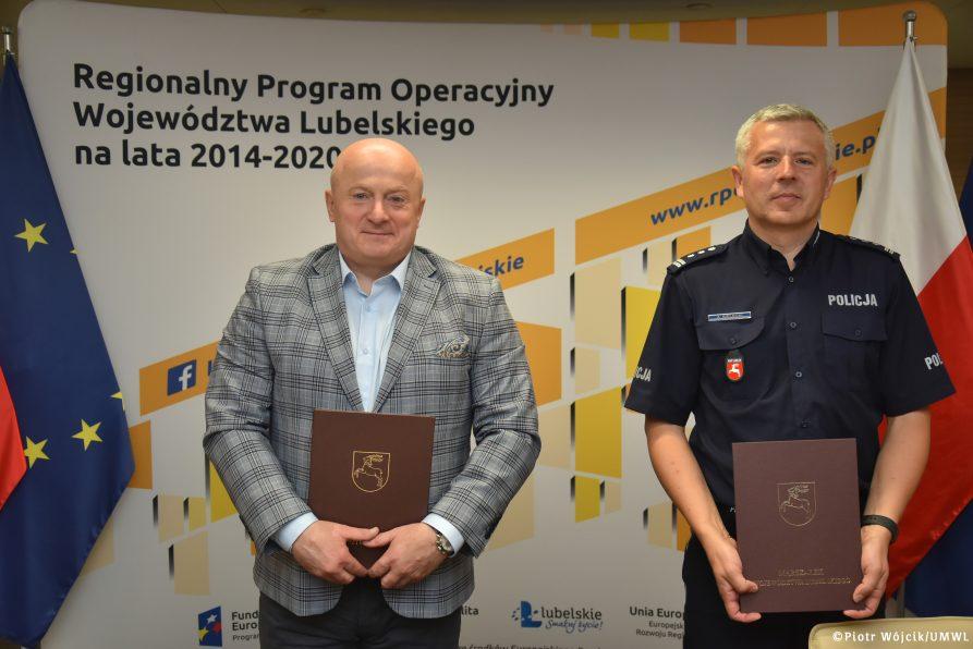 E-usługi lubelskiej Policji. Aneks do umowy podpisany