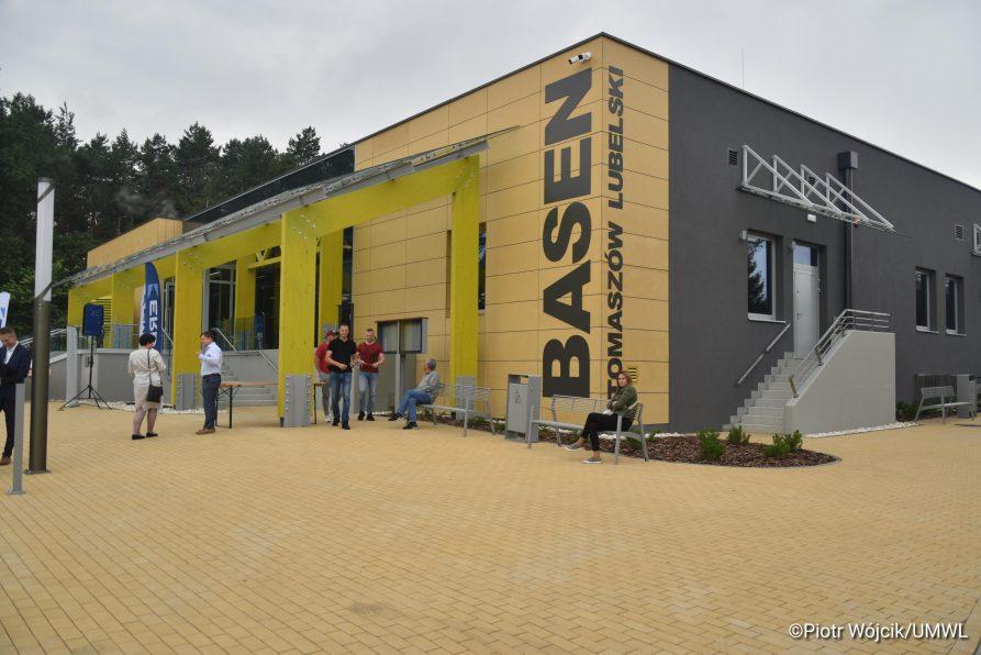 Basen w kompleksie sportowym OSIR Tomasovia otwarty