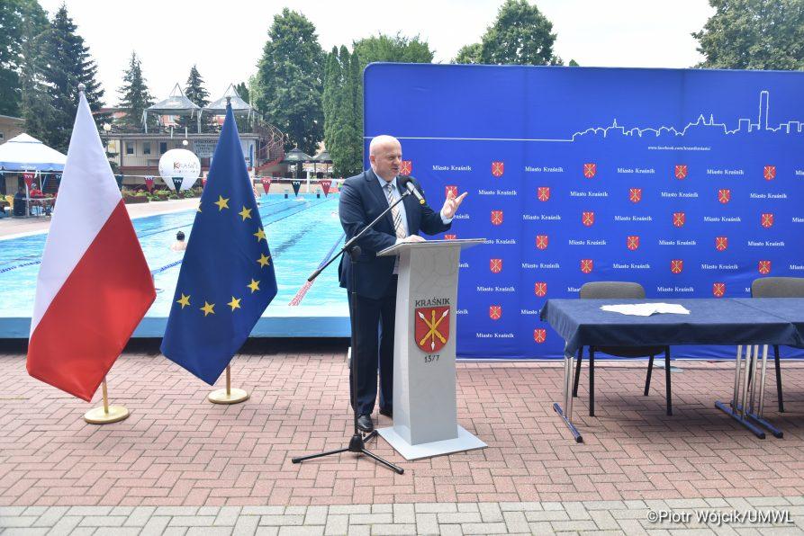 Fundusze Europejskie na modernizację MOSiR w Kraśniku