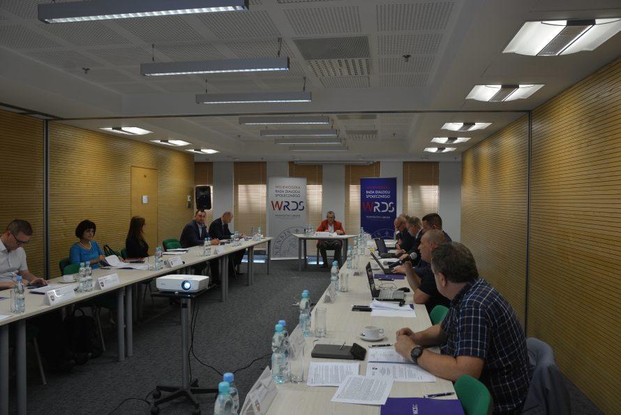 Posiedzenie SZR ds. Gospodarki, Innowacji i Rozwoju Przedsiębiorczości WRDS WL 6 sierpnia 2020 r.