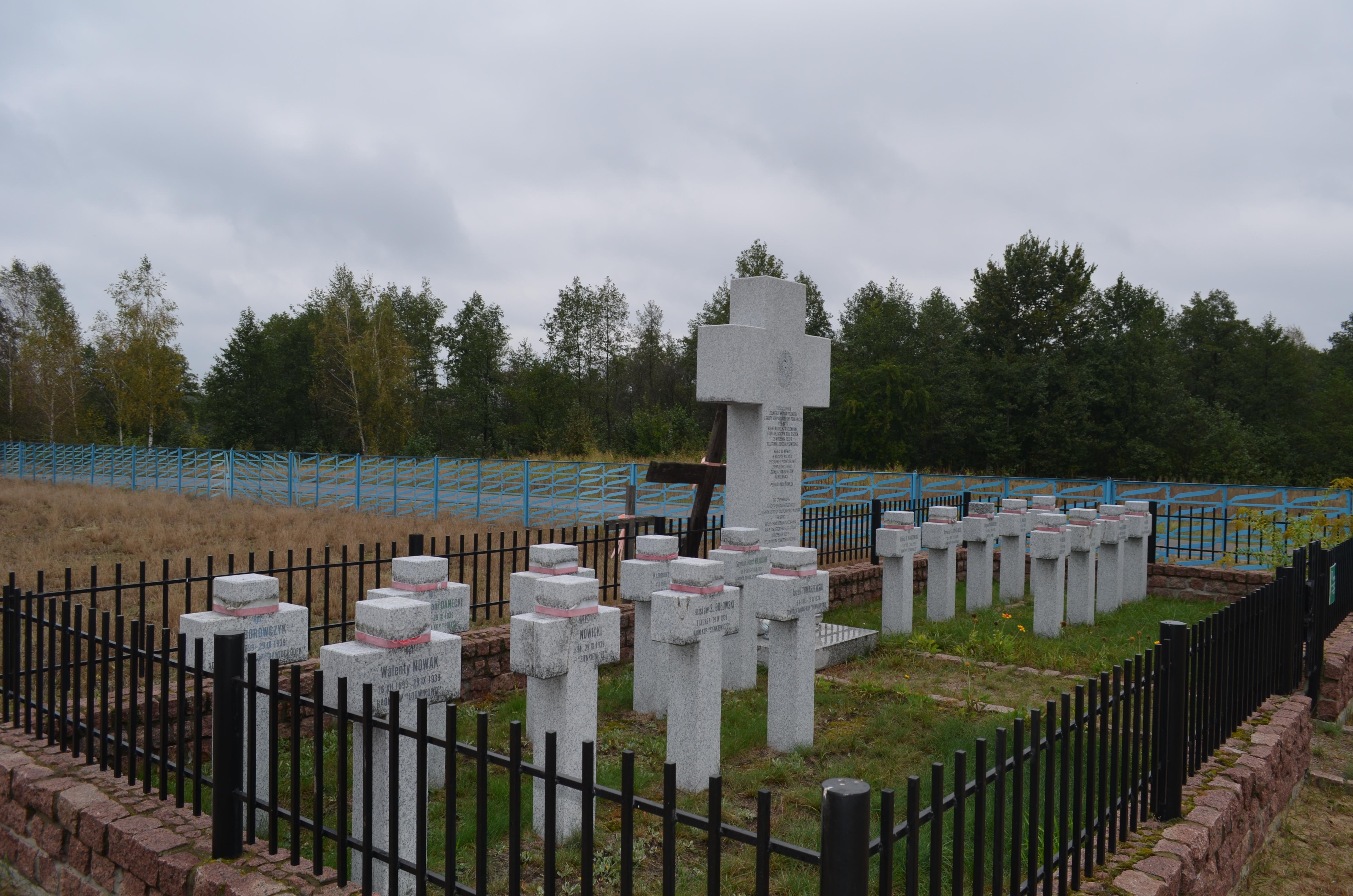 Wicemarszałek Zbigniew Wojciechowski upamiętnił poległych żołnierzy Korpusu Ochrony Pogranicza