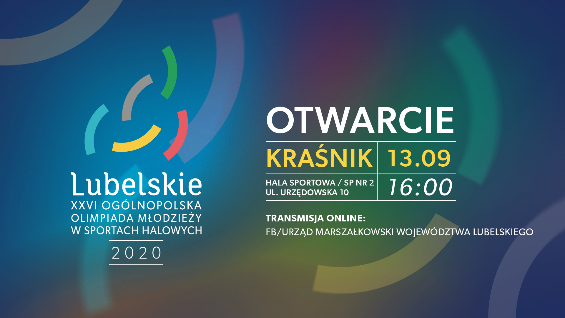 """OOM """"Lubelskie 2020"""" – transmisja online"""