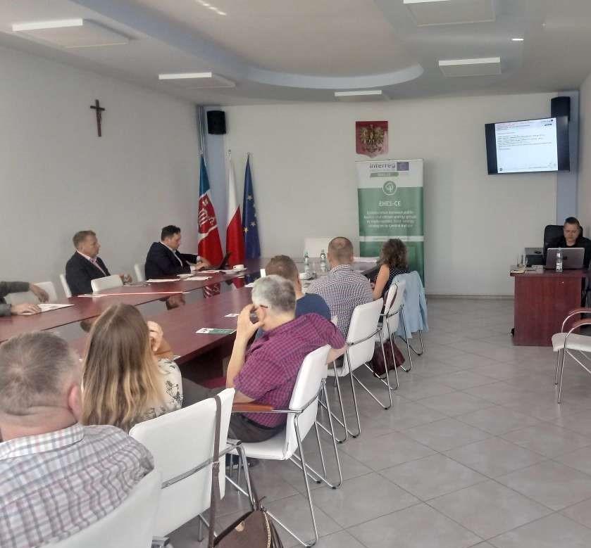 Za nami drugie spotkanie interesariuszy projektu ENES-CE