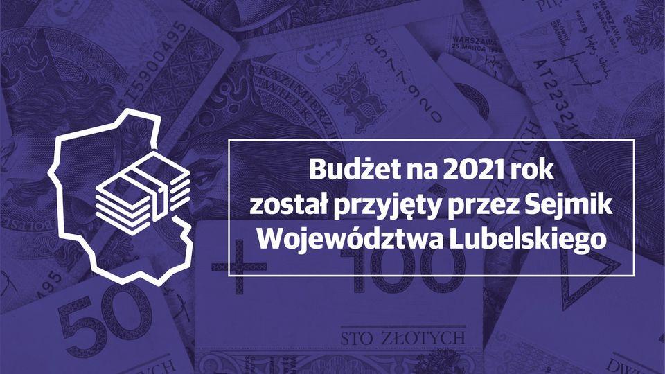 Budżet na 2021 rok przyjęty przez sejmik województwa