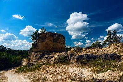 """Kamieniołom """"Babia Dolina"""", Park Krajobrazowy Puszczy"""