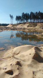 Złoże piasków kwarcowych